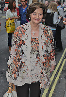 LONDON - July 31: Cherie Blair at the Spamalot Press Night (Photo by Brett D. Cove)