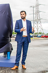 Pictured: Humza Yousaf<br /> <br /> Transport Minister Humza Yousaf spoke to stakeholders today at Falkirk Stadium as he outlined the Electric A9 vision with further support announced. <br /> <br /> <br /> Ger Harley | EEm 20 June 2018