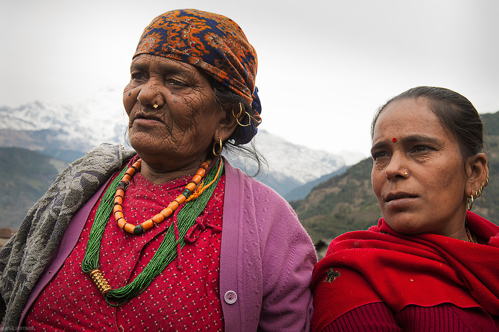 — The grand matriarch of this Gurung village (Priya's grandmother) and her daughter tell stories of young people who have left the village to seek their fortunes in the modern world. They tell us how the remittance payments these workers send home have become one of the family's main sources of income. Although there are many stories of success, like Om Gurung's story, there are also many tragic ones, making the elders reconsider their former recommendations.
