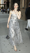 May 4, 2015 - New York City, NY, USA - <br /> <br /> Actress Rachel Weisz leaves a downtown hotel on her way to the Met Gala on May 4 2015 in New York City  <br /> ©Exclusivepix Media