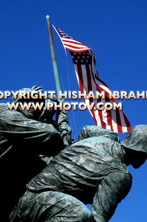 Iwo Jima Memorial, US Marine Corps, Arlington, Virginia, USA