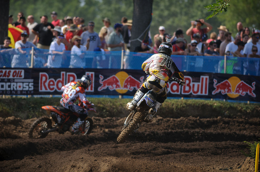 2012 AMA Motocross Nationals.Red Bud.Buchanan, Michigan..July 7, 2012