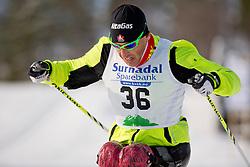 KLEBL Chris, CAN, Biathlon Pursuit, 2015 IPC Nordic and Biathlon World Cup Finals, Surnadal, Norway