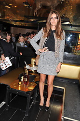 JADE WILLIAMS at the Johnnie Walker Gold Label Reserve Launch Party at Whisky Mist, 35 Hertford Street, London on 18th July 2012.