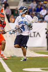 10 April 2010: North Carolina Tar Heels attackman Billy Bitter (4) during a 7-5 loss to the Virginia Cavaliers at the New Meadowlands Stadium in the Meadowlands, NJ.
