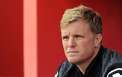 Bournemouth's Manager Eddie Howe - Photo mandatory by-line: Harry Trump/JMP - Mobile: 07966 386802 - 18/07/15 - SPORT - FOOTBALL - Pre Season Fixture - Exeter City v Bournemouth - St James Park, Exeter, England.