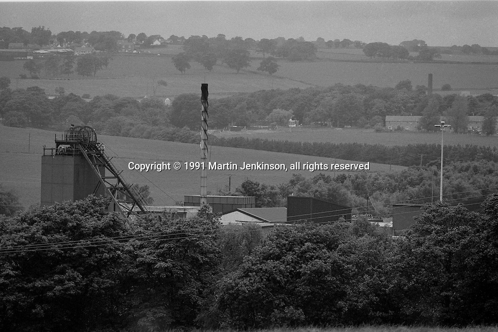 Denby Grange Colliery, Netherton. British Coal Barnsley Area. October 1991.