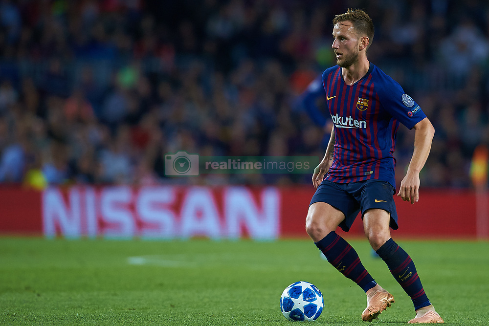 October 24, 2018 - Barcelona, Barcelona, Spain - Ivan Rakitic of FC Barcelona in action during the UEFA Champions League group B match between FC Barcelona and FC Internazionale  at Camp Nou on October 24, 2018 in Barcelona, Spain  (Credit Image: © Sergio Lopez/NurPhoto via ZUMA Press)
