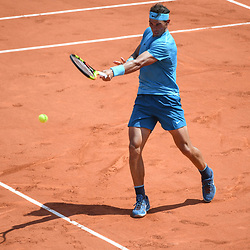 Rafael Nadal during Day 9 for the French Open 2018 on June 4, 2018 in Paris, France. (Photo by Anthony Dibon/Icon Sport)