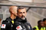 STOCKHOLM 2016-08-04<br /> KVAL TILL EUROPA LEAGUE AIK VS PANATHINAIKOS<br /> Nebosja Novakovic, assisterande tr&auml;nare i AIK under matchen mellan AIK och Panathinaikos p&aring; Tele2 Arena, torsdag den 4 augusti 2016.<br /> Foto: Nils Petter Nilsson/Ombrello<br /> ***BETALBILD***