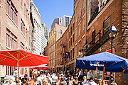 New York City: Cafes on Stone Street