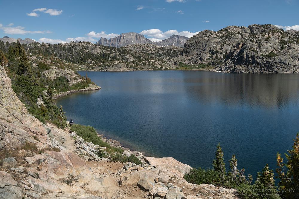 Senca Lake Bridger Wilderness, Wind River Range Wyoming