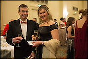 OLITA SELLERS; ROBERT PATTERSON, The St. Petersburg Ball. In aid of the Children's Burns Trust. The Landmark Hotel. Marylebone Rd. London. 14 February 2015. Less costs  all income from print sales and downloads will be donated to the Children's Burns Trust.