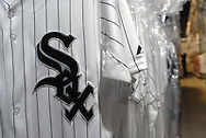4/3/09 11:04:08 AM -- Easton, PA, U.S.A. -- Chicago White Sox on field jersey await shipping in the Majestic Athletic warehouse April 3, 2009 in Easton, Pennsylvania. White Sox jerseys and gear have experienced a boost in sales with Obama, a White Sox fan, in the White House. -- .Photo by William Thomas Cain,  cainimages.com.