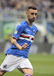 March 19, 2017 - Genoa, Italy - Bruno Fernandes during Serie A match between Sampdoria v Juventus, in Genova, on March 19, 2017  (Credit Image: © Loris Roselli/NurPhoto via ZUMA Press)