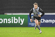 Ospreys' Jeff Hassler in action during todays match<br /> <br /> Photographer Craig Thomas/Replay Images<br /> <br /> EPCR Champions Cup Round 4 - Ospreys v Northampton Saints - Sunday 17th December 2017 - Parc y Scarlets - Llanelli<br /> <br /> World Copyright © 2017 Replay Images. All rights reserved. info@replayimages.co.uk - www.replayimages.co.uk