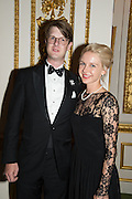 PRINCE ROSTISLAV ROMANOV; OLGA GRISHINA, The 20th Russian Summer Ball, Lancaster House, Proceeds from the event will benefit The Romanov Fund for RussiaLondon. 20 June 2015