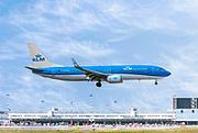 KLM Royal Dutch Airlines Boeing 737-800 at Malpensa (MXP / LIMC), Milan, Italy