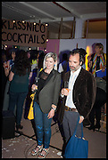ELIZABETH PRICE; MIKE NELSON, Matt's Gallery 35th birthday fundraising supper.  42-44 Copperfield Road, London E3 4RR. 12 June 2014.