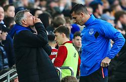 Everton manager Sam Allardyce reacts after his team miss a late chance - Mandatory by-line: Matt McNulty/JMP - 07/04/2018 - FOOTBALL - Goodison Park - Liverpool, England - Everton v Liverpool - Premier League