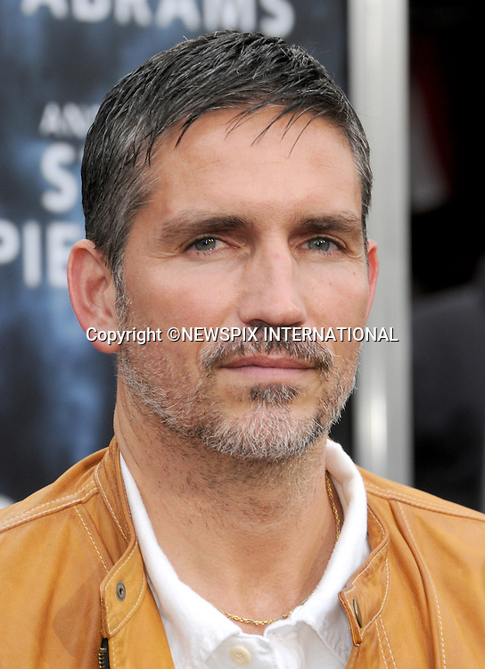 """JIM CAVIEZEL.attends the Los Angeles Premiere of """"Super 8"""" at the Regency Village Theater on June 8, 2011, Westwood, California.Mandatory Photo Credit: ©Crosby/Newspix International. .**ALL FEES PAYABLE TO: """"NEWSPIX INTERNATIONAL""""**..PHOTO CREDIT MANDATORY!!: NEWSPIX INTERNATIONAL(Failure to credit will incur a surcharge of 100% of reproduction fees)..IMMEDIATE CONFIRMATION OF USAGE REQUIRED:.Newspix International, 31 Chinnery Hill, Bishop's Stortford, ENGLAND CM23 3PS.Tel:+441279 324672  ; Fax: +441279656877.Mobile:  0777568 1153.e-mail: info@newspixinternational.co.uk"""