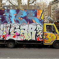 Paris Graffiti Trucks