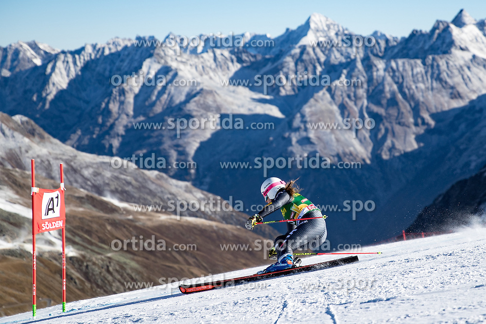 22.10.2016, Rettenbachferner, Soelden, AUT, FIS Weltcup Ski Alpin, Soelden, Riesenslalom, Damen, 1. Durchgang, im Bild Nadia Fanchini (ITA) // Nadia Fanchini of Italy in action during 1st run of ladies Giant Slalom of the FIS Ski Alpine Worldcup opening at the Rettenbachferner in Soelden, Austria on 2016/10/22. EXPA Pictures © 2016, PhotoCredit: EXPA/ Johann Groder