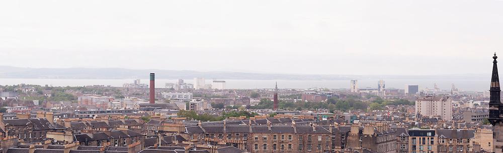 Panoramic view from centre of Edinburgh
