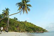 Tourists on the beaches of the island of Ko Pangan, Thailand
