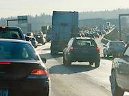 I-5 commute in Seattle traffic delays and congestion