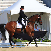 Santana Rooyakkers and Ravallo Son at the 2010 North American Young Rider Championships in Lexington, Kentucky.