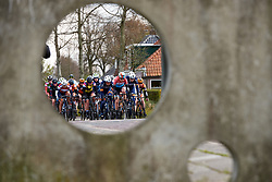 The lead group approach at Healthy Ageing Tour 2019 - Stage 4B, a 74.6km road race from Wolvega to Heerenveen, Netherlands on April 13, 2019. Photo by Sean Robinson/velofocus.com