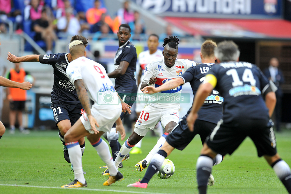 August 19, 2017 - Lyon, France - 10 Bertrand TRAORE  (Credit Image: © Panoramic via ZUMA Press)