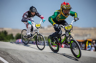 12 Boys #272 (O'BRIEN Luc) RSA at the 2018 UCI BMX World Championships in Baku, Azerbaijan.