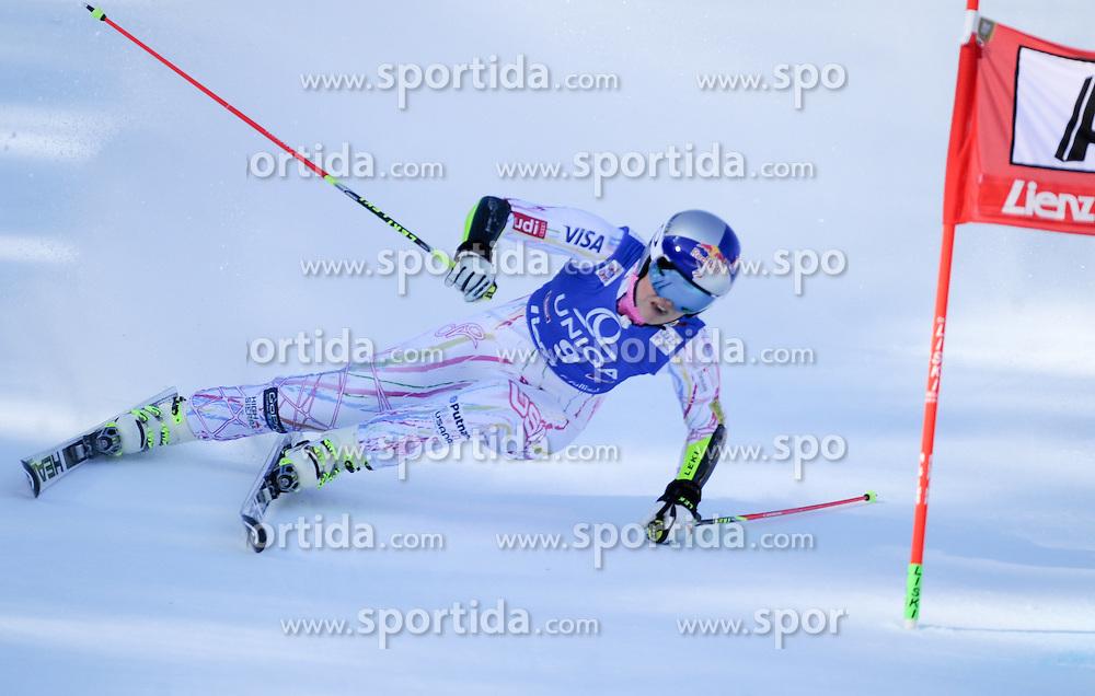 28.12.2015, Hochstein, Lienz, AUT, FIS Weltcup Ski Alpin, Lienz, Riesenslalom, Damen, 1. Durchgang, im Bild Lindsey Vonn (USA) // Lindsey Vonn of the USA during 1st run of ladies Giant Slalom of the Lienz FIS Ski Alpine World Cup at the Hochstein in Lienz, Austria on 2015/12/28. EXPA Pictures © 2015, PhotoCredit: EXPA/ Erich Spiess