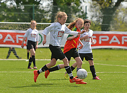 Action from the SPAR FAI Primary Schools 5's Connacht finals, pictured at Solar Park Mayo.<br /> Pic Conor McKeown
