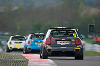 #18 Mark WAKEFIELD MINI JCW  during MINI Challenge - JCW  as part of the BRDC British F3/GT Championship Meeting at Oulton Park, Little Budworth, Cheshire, United Kingdom. April 17 2017. World Copyright Peter Taylor/PSP.