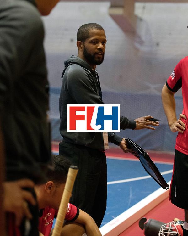 BERLIN - Indoor Hockey World Cup<br /> Trinidad &amp; Tobago - Australia<br /> foto: GOVIA Raphael<br /> WORLDSPORTPICS COPYRIGHT FRANK UIJLENBROEK