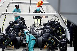 April 14, 2019 - Shanghai, China - Motorsports: FIA Formula One World Championship 2019, Grand Prix of China, ..#77 Valtteri Bottas (FIN, Mercedes AMG Petronas Motorsport) (Credit Image: © Hoch Zwei via ZUMA Wire)