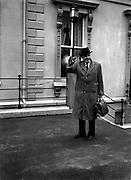 Sean Lemass, TD, An Taoiseach. .08.11.1960