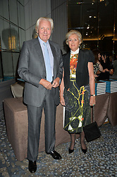 LORD & LADY HESELTINE at a party to celebrate the publication of Thenford: The Creation of an English Garden by Michael & Anne Heseltine held at The Grosvenor House Hotel, Park Lane, London on 24th October 2016.