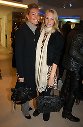 Left to right, OLIVIA BUCKINGHAM and POPPY DELEVINGNE at the launch of Roberto Cavalli Vodka held in the International Designer Room, Harrods, Hans Crescent, London on 5th December 2006.<br />