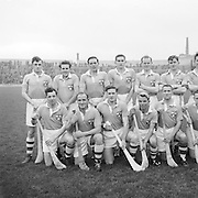 Dublin team before the National Hurling League, Cork v Dublin in Croke park on the 15th November 1953.