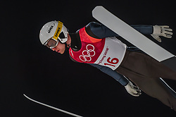 February 10, 2018 - Pyeonchang, Gangwon, South Korea - Evgeniy Klimovof New Zealand at mens normal hill final at 2018 Pyeongchang winter olympics at Alpensia Ski Jumping Centre, Pyeongchang, South Korea on February 10, 2018. Ulrik Pedersen/Nurphoto  (Credit Image: © Ulrik Pedersen/NurPhoto via ZUMA Press)