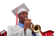 De'Arko McCathron performs during the Northridge High School 79th annual commencement at the Northridge High School Stadium in Dayton, Friday, June 1, 2012.