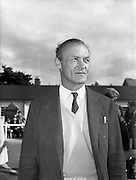 20/09/1960<br /> 09/20/1960<br /> 20 September 1960<br /> Goffs Bloodstock Sales at Ballsbridge, Dublin. At the sales was Wing Commander Timothy Ashmead Vigors of the Vigor Bloodstck Agency.
