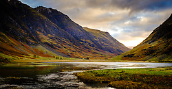 Early morning light on Loch Achtriochtan in Glencoe, Highlands of Scotland<br /> <br /> (c) Andrew Wilson | Edinburgh Elite media