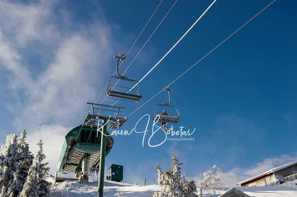 Skiing and Snowboarding at Gunstock Mountain Resort. ©2017 Karen Bobotas Photographer