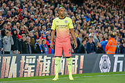 Manchester City midfielder Fernandinho (25) during the Premier League match between Crystal Palace and Manchester City at Selhurst Park, London, England on 19 October 2019.