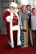 AMSTERDAM - Aankomst Maxima en Santa queen maxima in carre in amsterdam met de kerstman copyrigfht robin utrecht